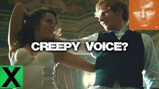 """Thinking Out Loud"" - Ed Sheeran, Creepy Mystery 2nd Voice (Explained)"