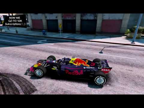 Aston Martin Red Bull Racing 2018 RB14 Grand Theft Auto V GTA V 🚗 I Go To 40K SUBS ;)