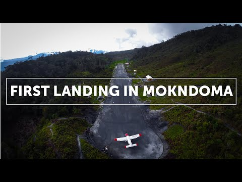 First Landing In Mokndoma (Papua, Indonesia)