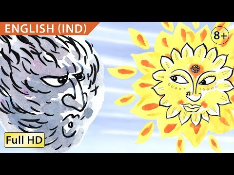 "The Wind and the Sun: Learn English (IND) with subtitles - Story for Children ""BookBox.com"""