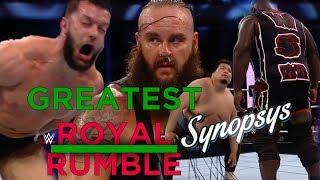 Обзор Greatest Royal Rumble - ВЕЛИЧАЙШИЙ ПОДСОС АРАБАМ (Synopsys)
