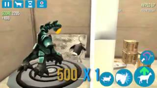How to get the alien goat  on goat simulator
