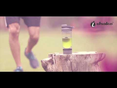 Ishake Dynamize 2 In 1 Shaker Bottle