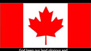 Oh Canada Canadian national anthem English lyrics