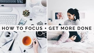 HOW TO FOCUS! Focus While Studying   Achieve Your Goals Faster! School Hacks!