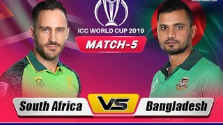 Icc world cup 2019.by real cricket go (ban vs sa)