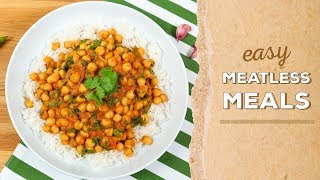 3 EASY Meatless Meals   Dinner Made Easy