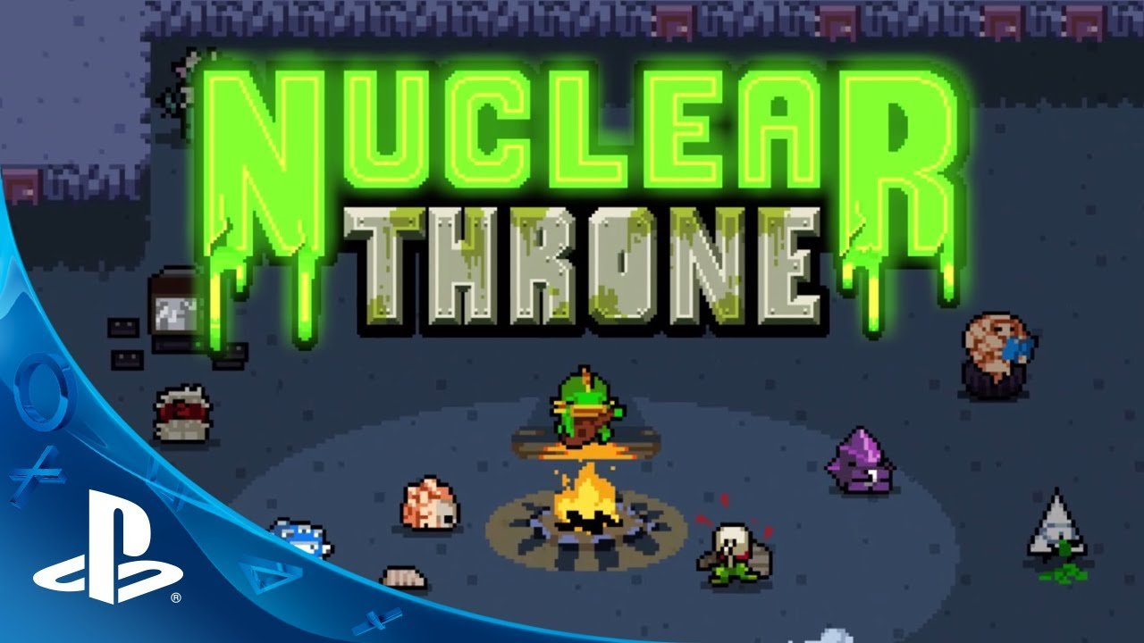 The Randomized Fun of Nuclear Throne on PS4, PS3, PS Vita
