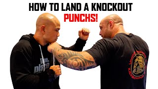 How to land a knockout punch   Master Wong