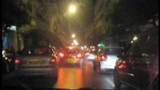 preview picture of video 'iDrive in Algiers by night Alger rue Didouche Mourad'