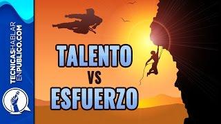 Talento VS Esfuerzo: Historia de Superación Personal y Autoestima | Disciplina o Inteligencia