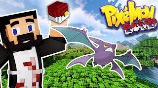 Crobat  - (Pokémon) - MINECRAFT PIXELMON EVOLVED! - EP03 - Bulbasaur, Crobat And Pickup Team! (Pokemon In Minecraft)