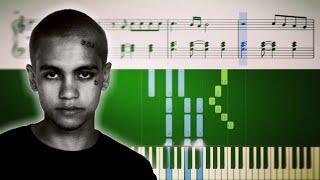 3 Nights   Dominic Fike   Piano Tutorial + SHEETS