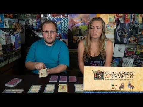 Tournament at Camelot - Card Game Review