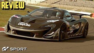 GT SPORT - McLaren P1 GTR REVIEW