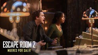 Sony Pictures Entertainment ESCAPE ROOM 2: MUERES POR SALIR. ¿Sobrevivirás? En cines 13 de agosto. anuncio
