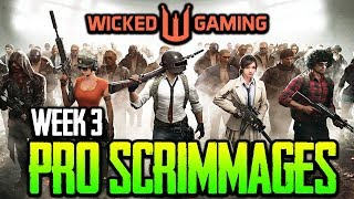 Wicked Gaming Pro Scrimmages Week 3 - ft. Lights Out, Confound,SV, RK, OPGG PUBG MOBILE