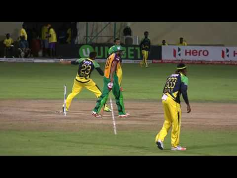CPL  Final 2016 Highlights  Guyana Amazon Warriors v Jamaica Tallawahs