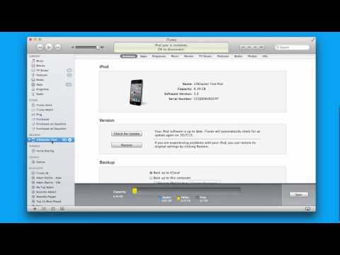 How To Set Up Wi-Fi Sync In iOS 5