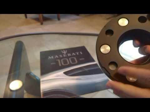 Infiniti FX50 wheel spacer unboxing