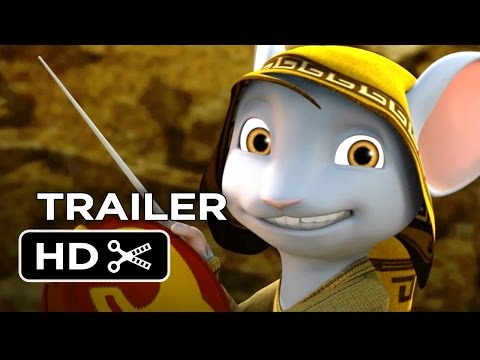 Download A Mouse Tale Official DVD Trailer (2015) - Drake Bell, Miranda Cosgrove Animated Movie HD Mp4 HD Video and MP3