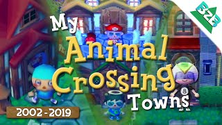 Revisiting My Childhood Animal Crossing Towns!