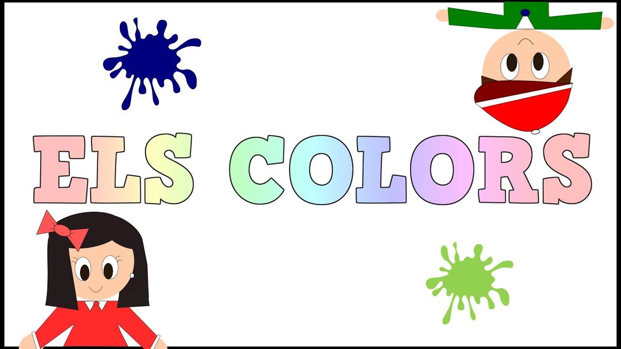 Els Colors -  Videos educatius per a Xiquets - Paty i Poty