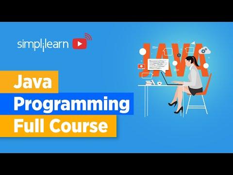 Java Programming Full Course | Java Programming For Beginners | Learn Java Programming | Simplilearn