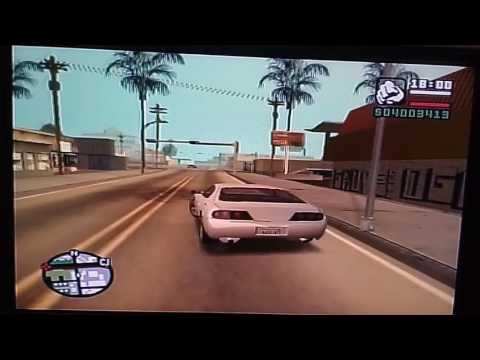 Video Cara membuat mobil balap GTA SA
