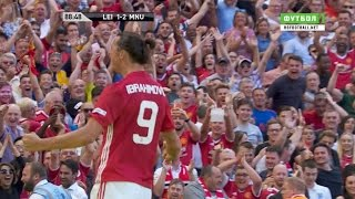 Zlatan Ibrahimović Vs Leicester City Community Shield HD 1080i By SagimbaevVideo