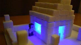 ЖЕЛЕЙНЫЙ МЕДВЕДЬ СЪЕЛ САХАРНЫЙ ДОМ НУБА! Как сделать сахарный домик!