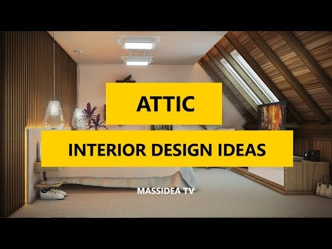 65+ Awesome Attic Interior Design Ideas You Will Love 2017