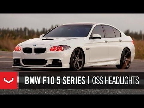 "BMW F10 5 Series 550i on 20"" Vossen VVS-CV3 Concave Wheels / Rims"