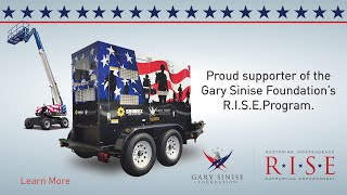 Supporting the Gary Sinise Foundation's R.I.S.E. Program