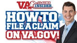 How to File a VA Claim on the NEW VA.gov Website (Step-By-Step Tutorial!)