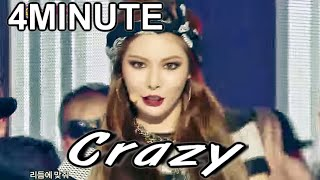 [HOT] 4MINUTE - Crazy,  4MINUTE - 미쳐, Show Music core 20150221