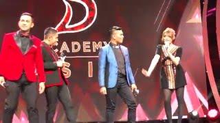 RINA NOSE -MAJU MUNDUR CANTIK DANCE ,D'ACADEMY ASIA 03122015
