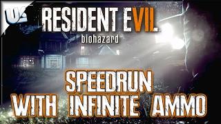 Speedrun, Infinite Ammo, Albert 01R, Saw   Resident Evil 7 Biohazard PS4 Gameplay Walkthrough Live