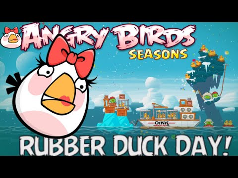 Angry Birds Seasons: The Pig Days - Rubber Duck Day 2015