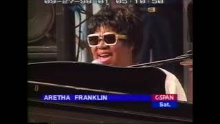 """Aretha Franklin - """"You'll Never Walk Alone"""" Cancer Education Rally 27th September 1998"""