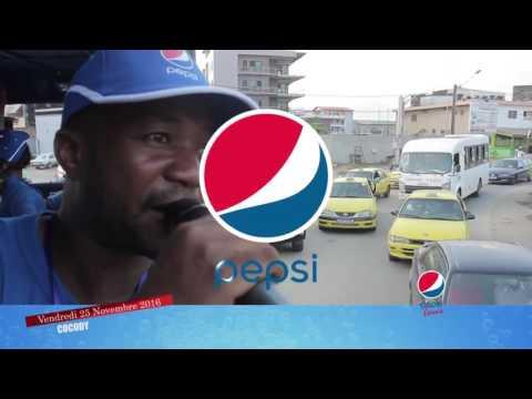 Pepsi Tour - Parade de Cocody le Vendredi 25 Novembre 2016
