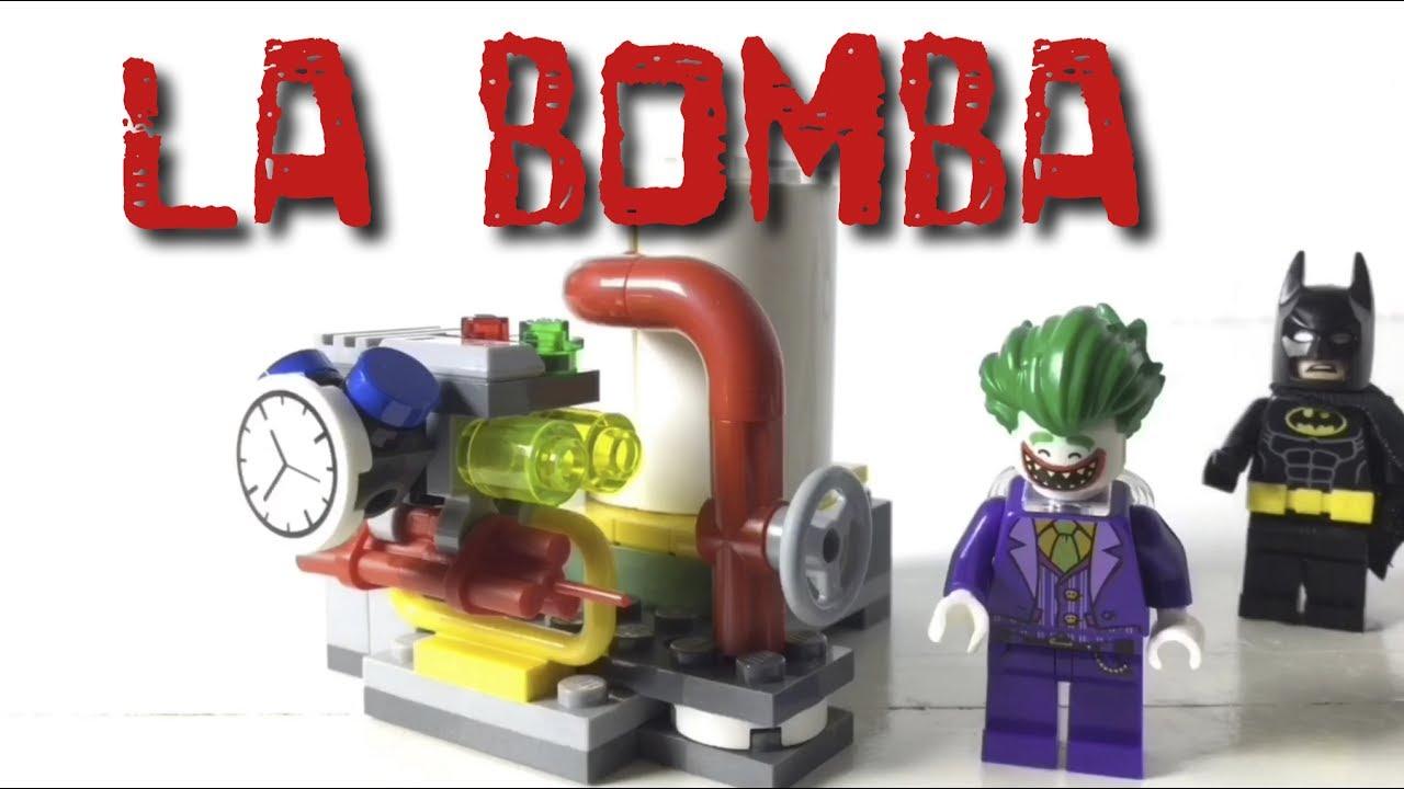 Batman versus Joker - La bomba - Lego stop motion