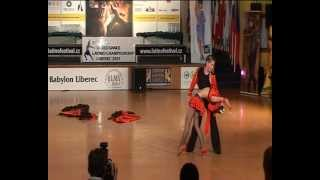 preview picture of video 'Edit Lilla Nagy and Her Partner - Latino Show World Championship, Liberec 2011'