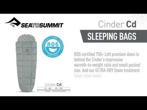 Sea To Summit Cinder Quilt (Unisex)