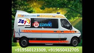 Get Fastest Ambulance Service in Ranchi ICU Facility
