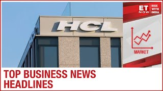 Metal Energy indices spearhead the gains, HCL Tech beats estimates on all counts | Top Business news