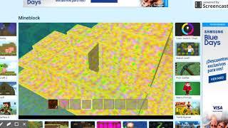 mjugando minecraft simulator y es para decir WTF