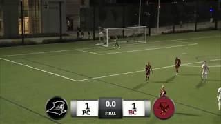 Men's Soccer Ties Boston College 1-1 In 2OT