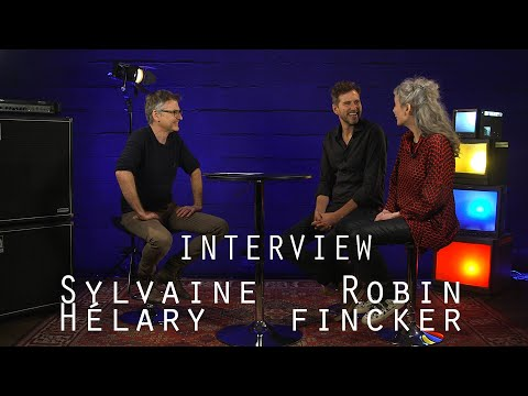 Extrait vidéo INTERVIEW JAZZ MAG - SYLVAINE HELARY & ROBIN FINCKER - BIZE