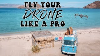 How To Fly Your Drone Like A Pro! (Beginner's Tutorial)
